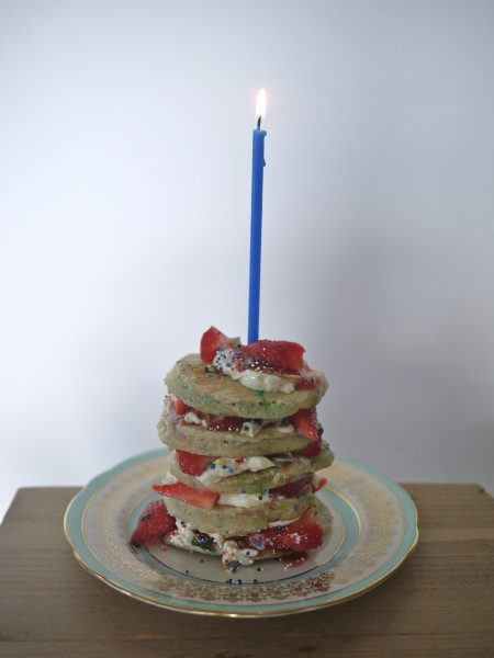 Buttermilk pancake stack