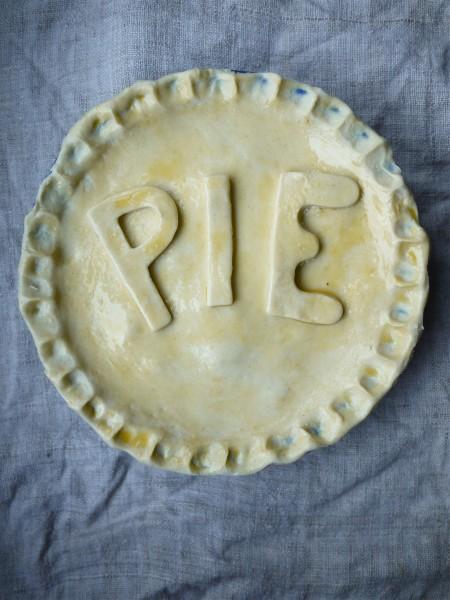 Unbaked pie