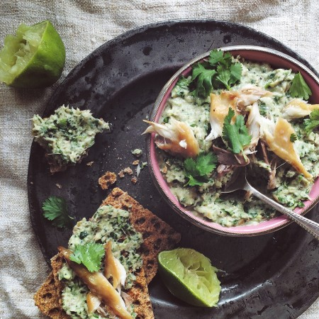 Thai spiced mackerel pate