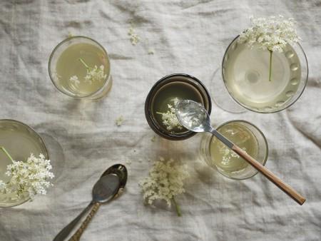 Elderflower jellies