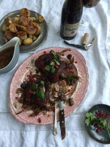 Spiced Pomegranate Lamb